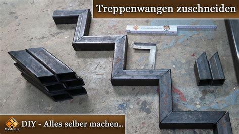 Treppenwangen Selber Bauen by Stahltreppe Selber Bauen Treppenwangen Zuschneiden 50
