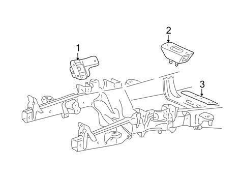 4 6 Liter Sohc Engine Diagram by 2l1z6038aa Ford Mount Motor 4 6l 5 4l Sohc 4 6 Liter