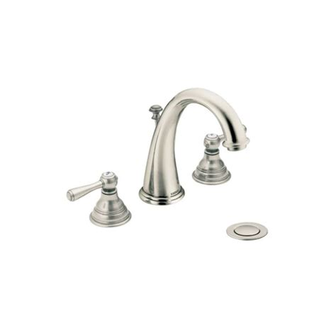 faucet com t6125bn 9000 in brushed nickel by moen
