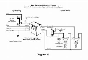 Central Lighting Inverter Wiring Diagram