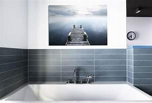 Wandbilder Für Badezimmer : badezimmer gestalten mit wandbildern whitewall ~ Frokenaadalensverden.com Haus und Dekorationen