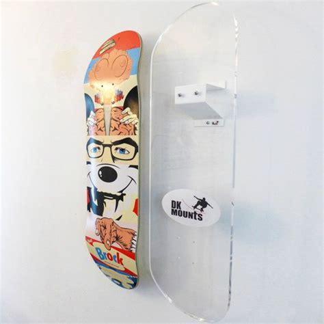 skateboard deck wall mount skateboard deck wall mount bracket by dkmounts on etsy