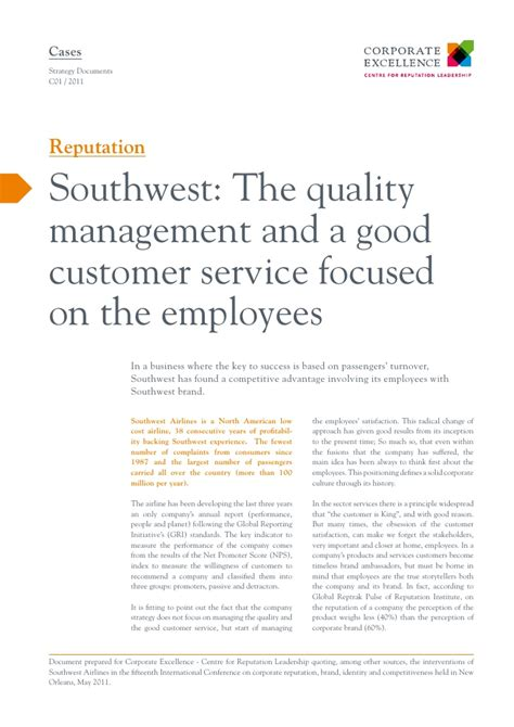 southwest customer relations phone number southwest the quality management and a customer
