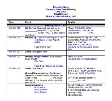 travel itinerary template travel itinerary template free premium templates