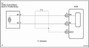 Toyota Sienna Service Manual  Throttle Actuator Control