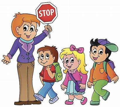 Walking Clipart Theme Illustration Vector Clip Child