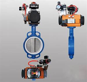 Two Piece Body Wafer Type Butterfly Valves