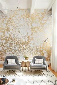 Tapete Blumen Modern : 71 wohnzimmer tapeten ideen wie sie die wohnzimmerw nde beleben ~ Eleganceandgraceweddings.com Haus und Dekorationen