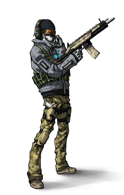 Ghost Call Of Duty Kira