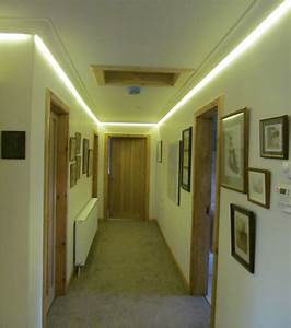 Concealed led tape colour changing coving lighting for Coving for bathroom ceilings