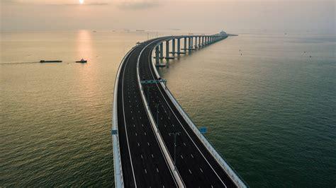 hong kong macau bridge wallpaper hong kong zhuhai macau bridge china 4k travel