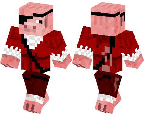pirate pig minecraft skin minecraft hub