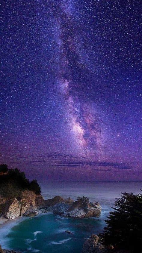Milky Way Over Big Sur California Places Been