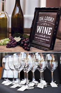 A Rustic-Glam Wine Tasting Party at Home // Hostess with ...