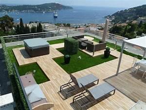 parquets terrasses bois partenaire idexterieurscom With amenagement terrasse de toit