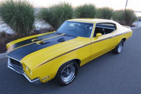 Buick Gsx For Sale by 1970 Buick Gsx 455 Cu In 4 Speed 69 Gsx Build Sheeet For