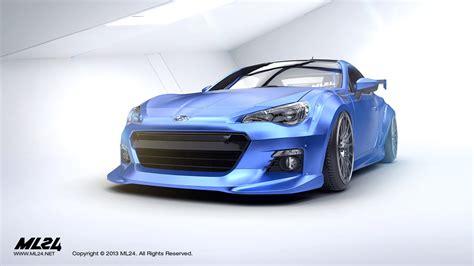 widebody brz ml24 automotive design prototyping and body kits