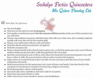 Quinceanera Planning Timeline Guide