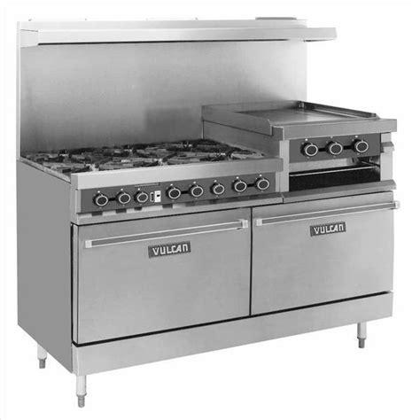 l burners new vulcan 260 l 6 burner 2 oven range griddle br 260l