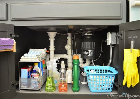 organizing the kitchen sink kitchen sink organization ideas that add storage 7224