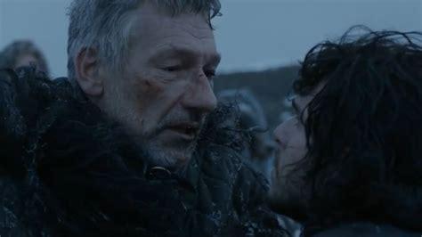 Jon Snow Mata A Qhorin Mediamano