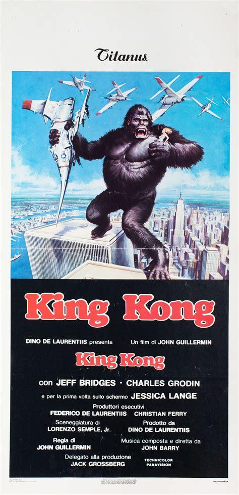 The official universal studios entertainment facebook page. King Kong 1976 Italian Locandina Poster | Posteritati ...