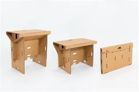 mobiler de bureau refold cardboard standing desk changes the way you work