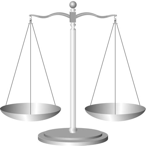 Image Of A Scale File Scale Of Justice Svg Wikimedia Commons