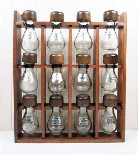 Hanging Spice Rack With Jars by My Favorite 2016 Vintage Finds Vintage Goodness