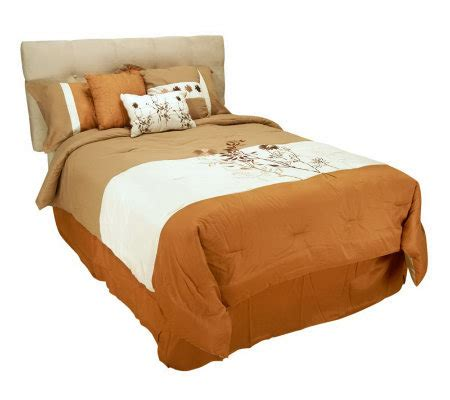 angelo home wildflower comforter pillows qvc