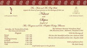 indian wedding invitation cards theruntimecom With indian wedding invitations online maker