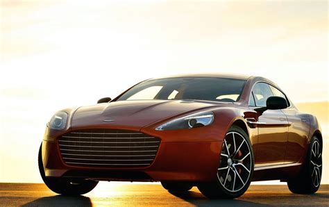 Aston Martin Rapide S  Brand's New Fourdoor Sports Car