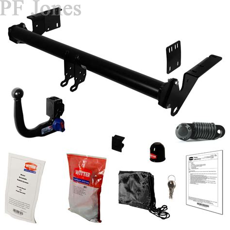 witter towbar for nissan x trail atv suv t32 2014 on detachable tow bar ebay
