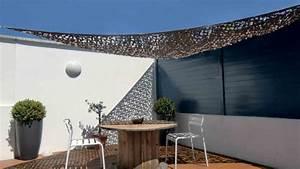 Filet De Camouflage Pour Terrasse : voile ombrage camouflage ~ Melissatoandfro.com Idées de Décoration
