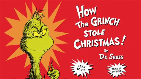How The Grinch Stole Christmas Book Fishwolfeboro