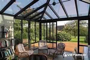 Veranda Verriere : veranda rouen v randas pergolas sur mesure devis gratuit ~ Melissatoandfro.com Idées de Décoration
