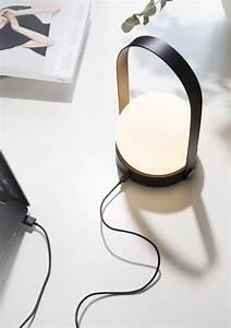 Carrie Portable LED Lamp - Gessato