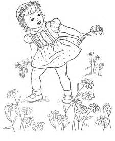 Flower Coloring Pages for Teen Girls