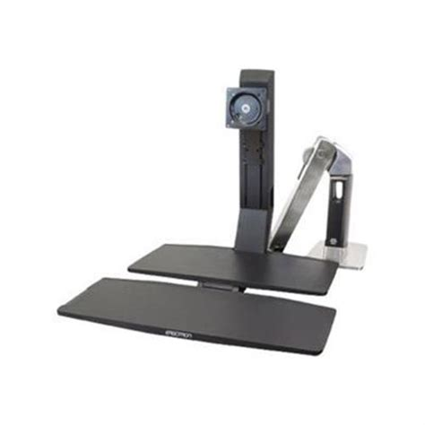 Desk Mount Monitor Arm With Keyboard Tray by Macmall Ergotron Workfit A Single Hd With Worksurface