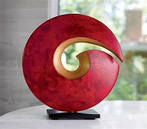 Spiral Sculpture by Cheryl Williams (Ceramic Sculpture