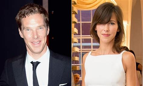 Benedict Cumberbatch and fiancée Sophie Hunter make their ...