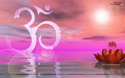 Om Wallpapers Spiritual Lotus Animated Background Yoga