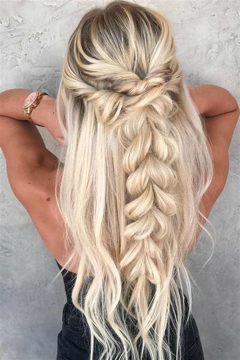 42 Easy Summer Hairstyles To Do Yourself Cute braided