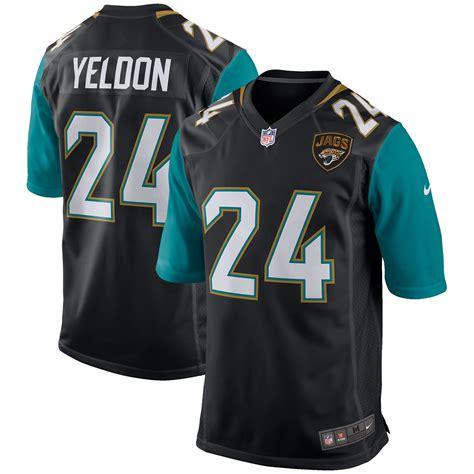 Youth Nike T.J. Yeldon Black Jacksonville Jaguars Game Jersey