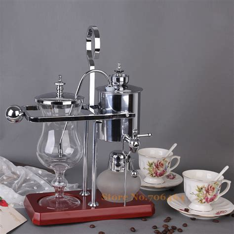All in all, this is an effective brewer that's highly when it comes to visual appeal, the diguo belgian luxury siphon coffee maker is certainly one of the best. Water Drop Royal Belgian Balancing Siphon Coffee Maker