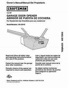 Chamberlain Formula 1 Garage Door Opener Manual