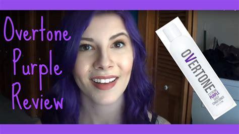 color purple reviews overtone purple review