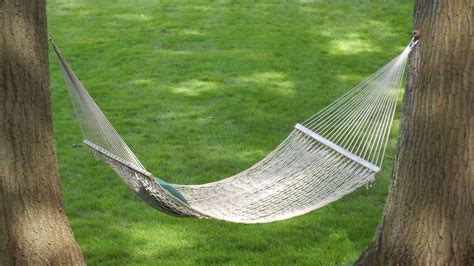 Hammock Cing Without Trees by How To Hang A Hammock Without Hurting Your Trees Cottage