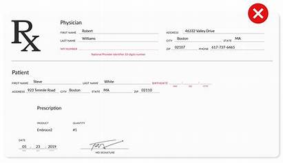 Prescription Example Doctor Approved Npi Correct Ordering