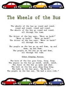 Wheels On the Bus Go Round Song